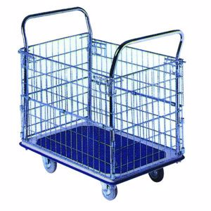 Picture of Stock Picking Trolley 500kg Big Deck
